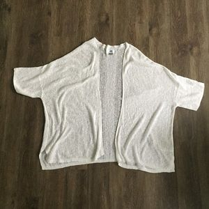 Old Navy Drop Needle Open Front Cardigan Sweater